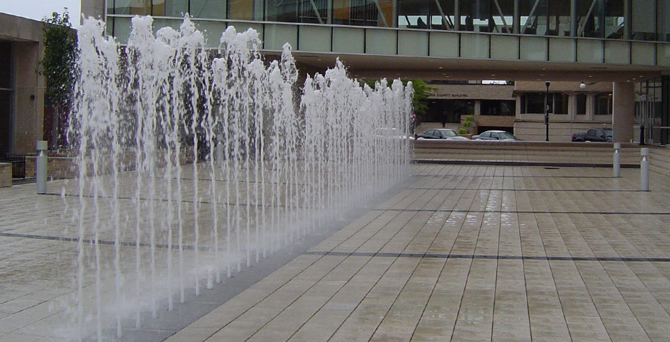 Fountain technologies water jet design chicago